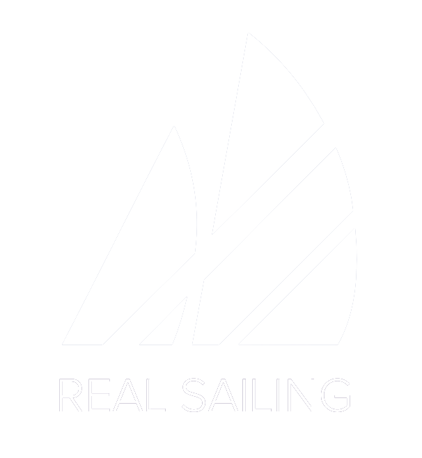 Logo Real Sailing weiss