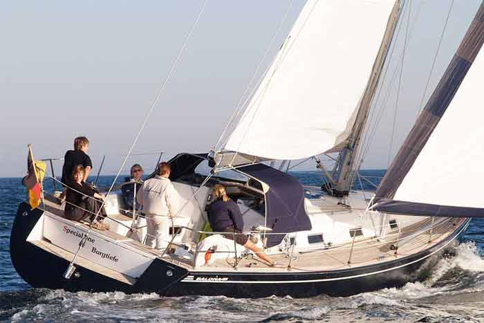 Yachtcharter Ostsee Salona45 Special One 2
