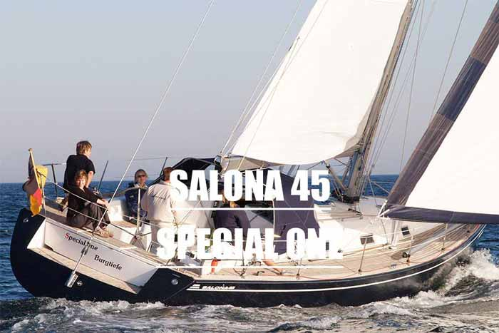 Yachtcharter Ostsee Salona45 Special One 3