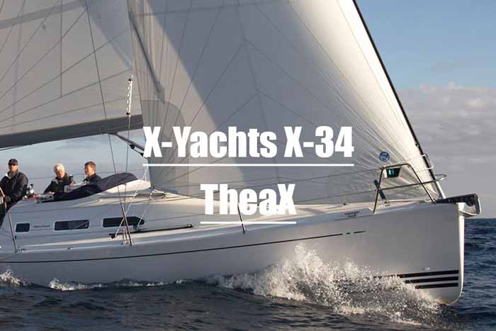 X-Yachts X-34 TheaX bei Yachtcharter REAL Sailing ab Fehmarn chartern