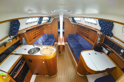 Yachtcharter Ostsee X 332 Relax