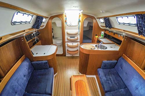 Yachtcharter Ostsee X 332 Relax 2