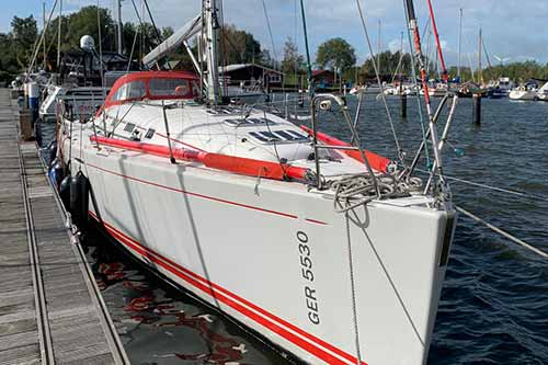 Yachtcharter Ostsee First447 c