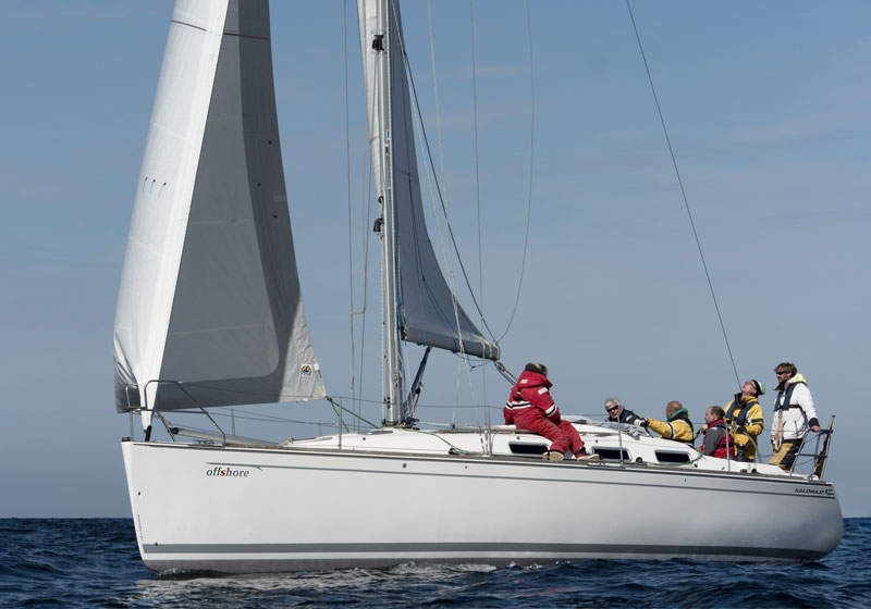 Yachtcharter Ostsee Salona37 offshore 4