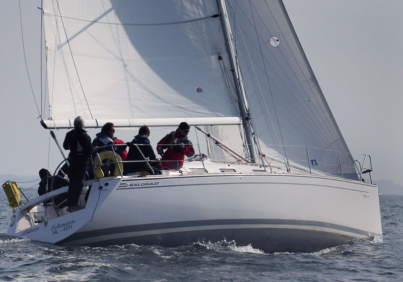 Yachtcharter Ostsee Salona37 offshore 7