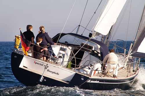 Yachtcharter Ostsee Salona45 Special One